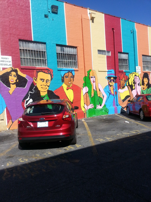 Little Five Points Mural