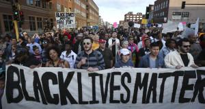 black lives matter rally