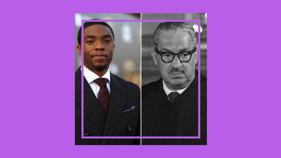 Chadwick Boseman To Portray Thurgood Marshall In Upcoming Film